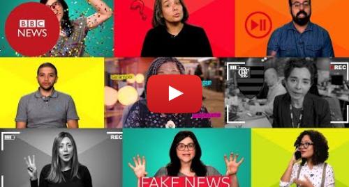 YouTube post de BBC News Brasil: Workshop da BBC em vídeo revela o que há por trás da notícia e das fake news (Módulos 1 e 2)