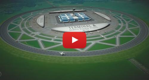 Publicación de Youtube por BBC News Mundo: ¿Son las pistas de aterrizaje circulares el futuro?