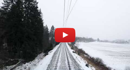 YouTube post de RailCowGirl: TRAIN DRIVER'S VIEW  Live chat and Stream from the Bergen Line, Norway (Winter Vibes)
