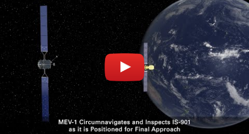 Youtube post by Northrop Grumman: MEV-1 Mission Profile
