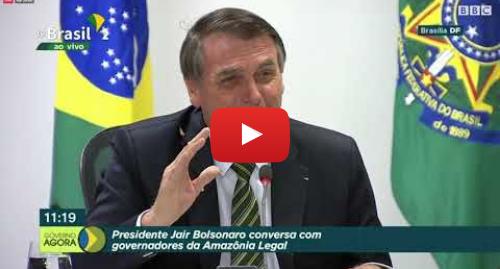 YouTube post de BBC News Brasil: Os destaques da resposta de Bolsonaro e governadores à crise na Amazônia