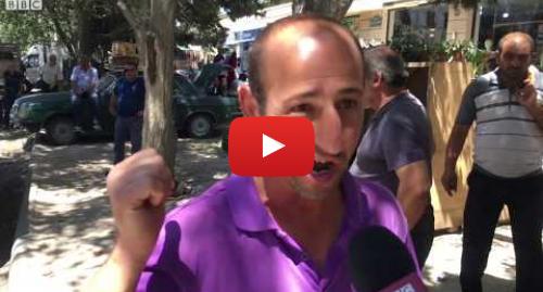 """BBC News Azərbaycanca tərəfindən edilən YouTube paylaşımı: """"Mən neft ölkəsiyəm...157 manata küçə süpürtdürürlər""""- Hövsandakı fəhlə bazarında"""""""