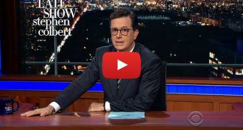 Youtube пост, автор: The Late Show with Stephen Colbert: The Worst Campaign Ad Of The 2018 Mid-Terms Has Arrived