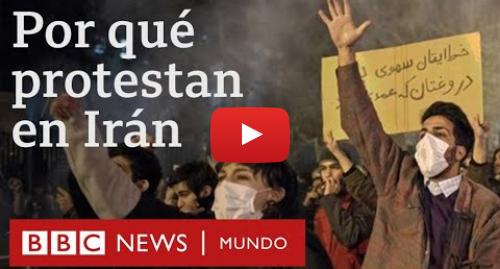 Publicación de Youtube por BBC News Mundo: Cómo el derribo del avión de Ukraine International Airlines agudizó la crisis en Irán   BBC Mundo