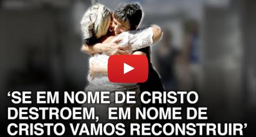 YouTube post de BBC News Brasil: Evangélicos ajudam a reerguer terreiro de candomblé queimado