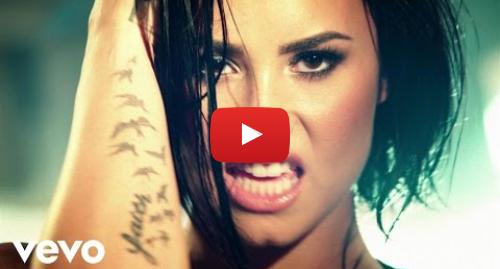 Youtube post by DemiLovatoVEVO: Demi Lovato - Confident (Official Video)