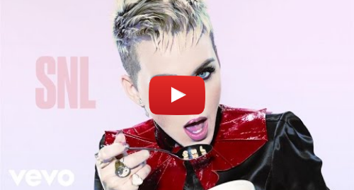 Youtube post by KatyPerryVEVO: Katy Perry - Swish Swish (Live on SNL)