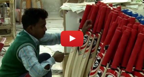 यूट्यूब पोस्ट BBC News Hindi: How a cricket bat is made? (BBC Hindi)