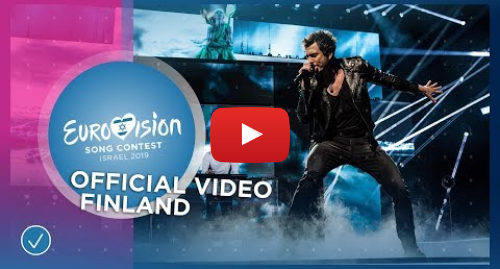 Youtube post by Eurovision Song Contest: Darude feat. Sebastian Rejman - Look Away - Finland 🇫🇮 - Official Video - Eurovision 2019