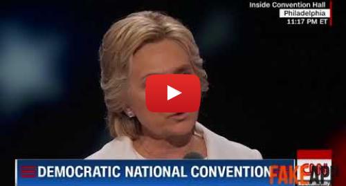 Yutube โพสต์โดย TheGoncas2: DeepFake - Donald Trump on Hillary Clinton