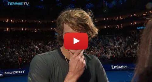 Youtube пост, автор: Tennis TV: Zverev vs Federer  ball kid & crowd drama | Nitto ATP Finals 2018 Semi-Final