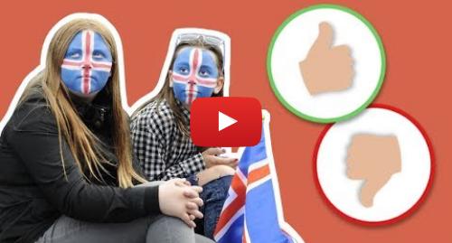 Publicación de Youtube por BBC News Mundo: Islandia  lo mejor y lo peor de ser inmigrante en este país nórdico