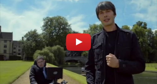 """Youtube post by Monty Python: Prof. Brian Cox & Prof. Stephen Hawking - The Meaning of Live"""""""