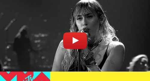 Youtube post by MTV: Miley Cyrus Performs 'Slide Away'   2019 Video Music Awards