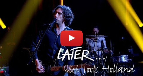 Youtube post by BBC Music: The premiere of Snow Patrol - Empress on Later... with Jools Holland