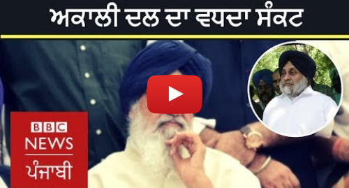 Youtube post by BBC News Punjabi: Akali Dal in deep crisis  What will be the future of party? | BBC NEWS PUNJABI