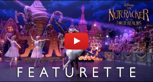 """Youtube post by Walt Disney Studios: Disney's The Nutcracker and The Four Realms - """"On Set with Misty Copeland"""" Featurette"""