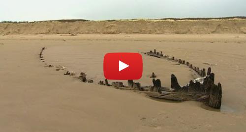 Publicación de Youtube por BBC News Mundo: Los viejos naufragios que emergen tras las tormentas BBC MUNDO