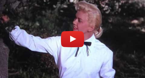 """Youtube post by John LeGear: Doris Day sings """"Secret Love"""" from """"Calamity Jane"""" (1953)"""