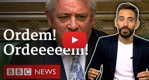 YouTube post de BBC News Brasil: As curiosidades do Parlamento britânico