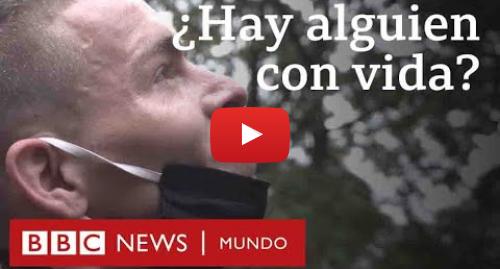 Publicación de Youtube por BBC News Mundo: El grito de un venezolano que resuena en Bogotá en medio de la crisis por la pandemia | BBC Mundo