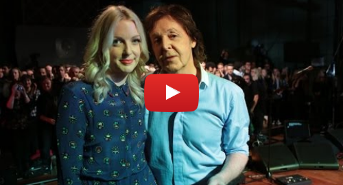 Youtube post by BBC Radio 6 Music: Paul McCartney chats with Lauren Laverne