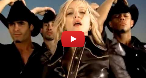 Youtube post by Madonna: Madonna - Don't Tell Me (Official Music Video)