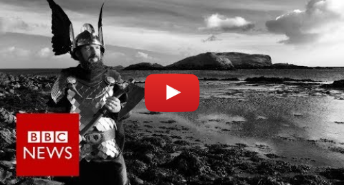 Youtube post by BBC News: Up Helly Aa  Bike-riding Vikings (360 video)- BBC News