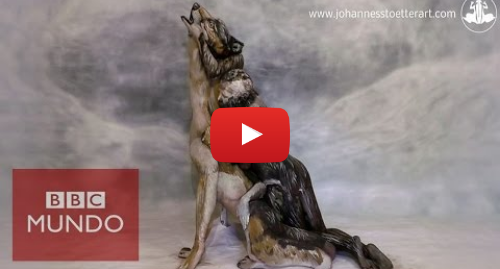 Publicación de Youtube por BBC News Mundo: Johannes Stoetter crea Increíbles ilusiones ópticas creadas con bodypainting