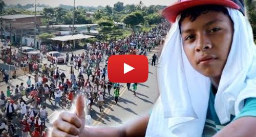 Publicación de Youtube por BBC News Mundo: Cómo reciben en México a la caravana de migrantes centroamericanos
