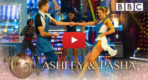 Youtube post by BBC Strictly Come Dancing: Ashley and Pasha Jive to 'Shake Ya Tail Feather' by The Blues Brothers - BBC Strictly 2018