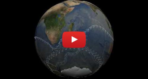 Publicación de Youtube por NASA Scientific Visualization Studio: Thermohaline Circulation