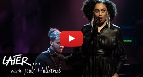 Youtube post by BBC Music: Celeste - Lately (Later... With Jools Holland)