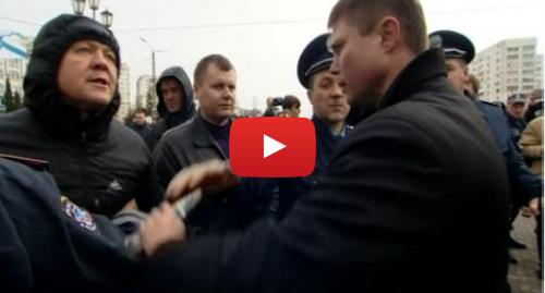 Youtube допис, автор: BBC News Україна: У Севастополі біля Шевченка спалахнула бійка