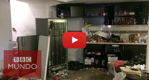 Publicación de Youtube por BBC News Mundo: Impresionantes imágenes de cómo quedó la casa donde se escondía el Chapo Guzmán