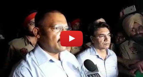 Youtube post by BBC News Punjabi: Attack at Jalandhar's Maqsudan Police Station | BBC NEWS PUNJABI