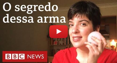 YouTube post de BBC News Brasil: Coronavírus  o que o sabão faz com o vírus que causa a covid-19