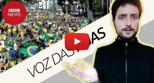 YouTube post de BBC News Brasil: 7 conclusões após os protestos pró-Bolsonaro de 26/05