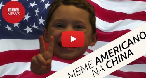 YouTube post de BBC News Brasil: Rosto de menino americano vira meme e viraliza na China; entenda por quê