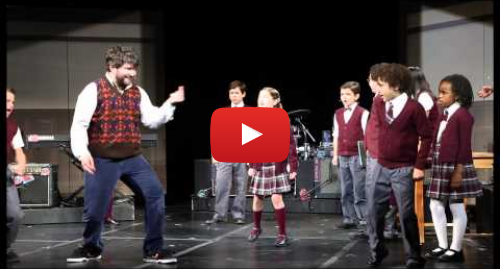 Youtube post by Broadwaycom: Alex Brightman & the Cast Sing 'Stick it to the Man' From Broadway-Bound SCHOOL OF ROCK