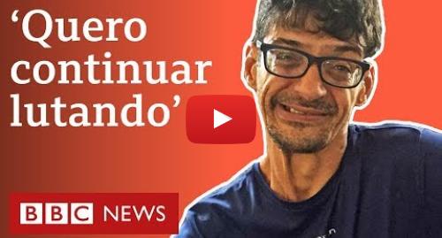 YouTube post de BBC News Brasil: Após morte da mãe, bacharel em Direito com paralisia cerebral diz que 'continua firme'