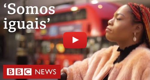 YouTube post de BBC News Brasil: A influencer de beleza sem pernas e braços