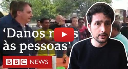 YouTube post de BBC News Brasil: Coronavírus  Como Twitter, Instagram e Facebook apagaram vídeos de Bolsonaro