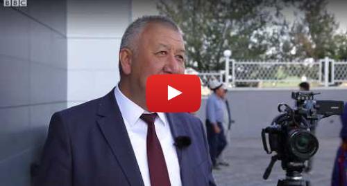 Youtube постту BBC News Кыргыз жазды: Кубатбек Боронов  Кийинки Дүйнөлүк көчмөндөр оюндарын башка өлкөгө өткөрүп беребиз - BBC Kyrgyz