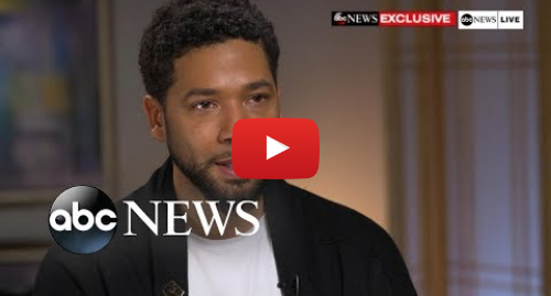 Youtube post by ABC News: Jussie Smollett FULL Interview on alleged attack | ABC News Exclusive