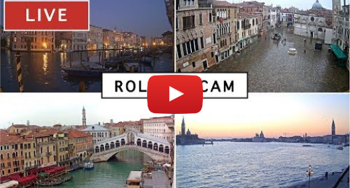YouTube post de I Love You Venice: Rolling Cam Venice - The most beautiful Live Cam in Venice Italy