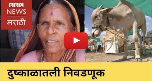 Youtube post by BBC News Marathi: Lok Sabha  Is drought important issue in election? लोकसभा निवडणुकीत दुष्काळाचा मुद्दा कुठे आहे?