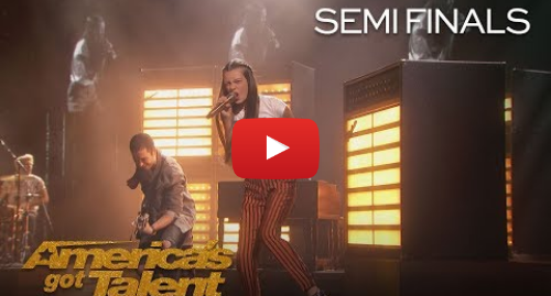 "Youtube post by America's Got Talent: Courtney Hadwin  Shy Teen Shocks Audience With ""Born To Be Wild"" - America's Got Talent 2018"
