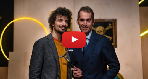 Youtube post by Sotheby's: When the Drummer Met the Art Dealer  Fabrizio Moretti x 2