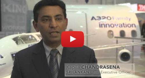 Youtube හි Airbus කළ පළකිරීම: SriLankan Airlines  An all-Airbus fleet